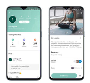 Yoga Apps for iOS and Android