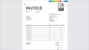 Requirement Invoice