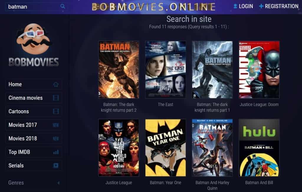 Bobmovies.net Download Apps