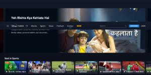 Hotstar TELEVISION Movies Live Cricket