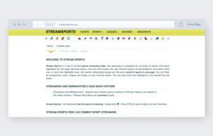 Streamsports