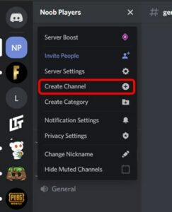 how to make a discord server on mobile