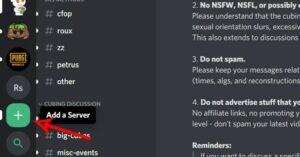 Manage Discord Server
