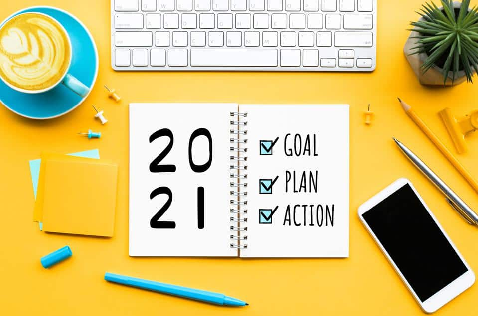 Financial New year's resolutions 2021