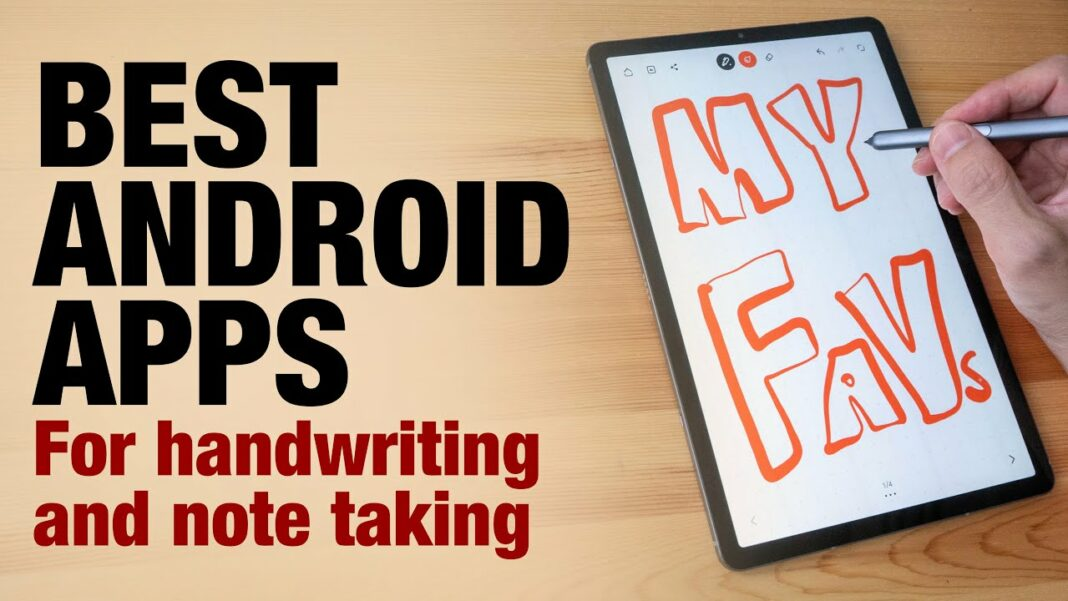 best handwriting apps for android