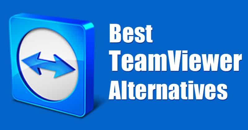 teamviewer alternatives remote desktop