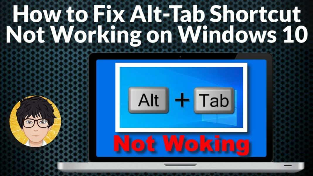 alt tab not working