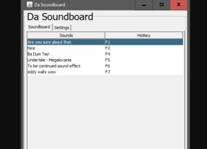 Da Soundboard