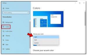 Windows 10 dark mode File Explorer