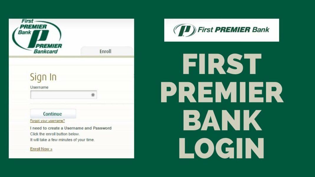 firstpremier com login