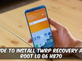 Root LG G6 Android 9
