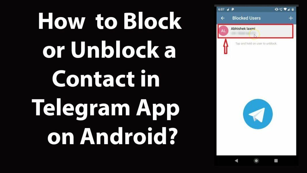 telegram block