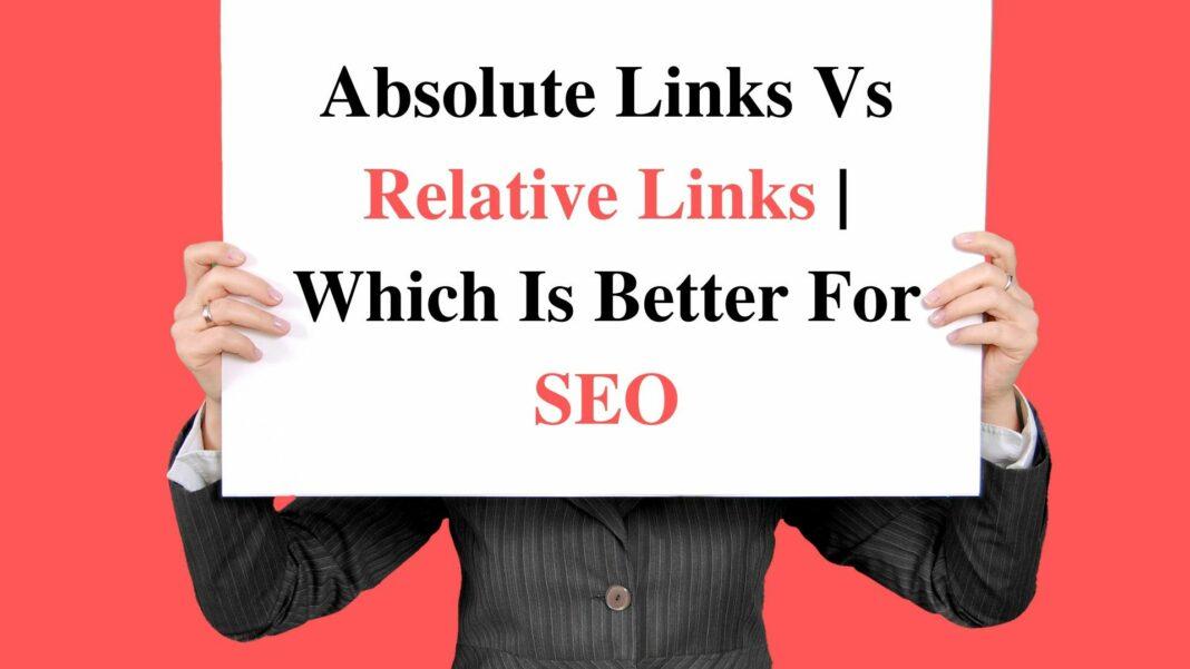 absolute vs relative url