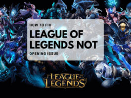 league not opening