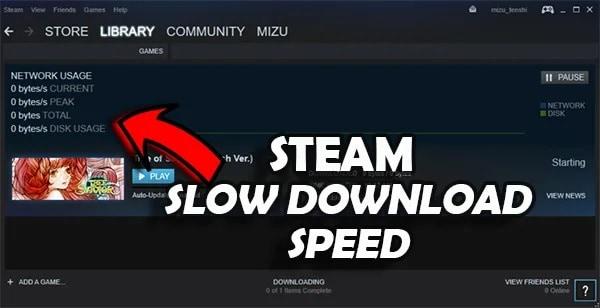 slow steam download speed