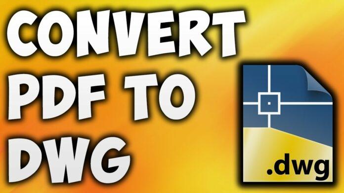 best pdf to dwg converter