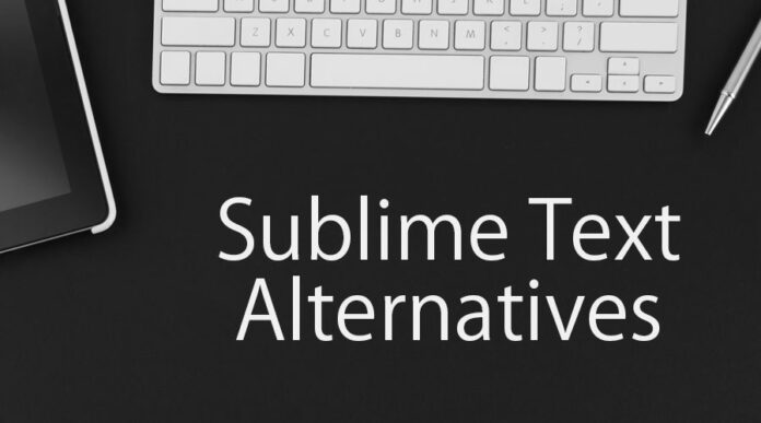 sublime text alternative